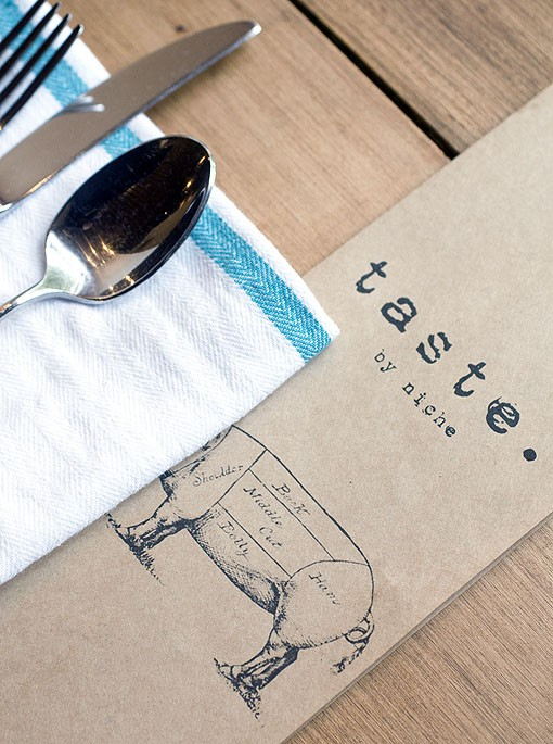 The menu is often changing and therefore re-printed a few times a week. See a slideshow of photos from Taste by Niche. - PHOTO: JENNIFER SILVERBERG