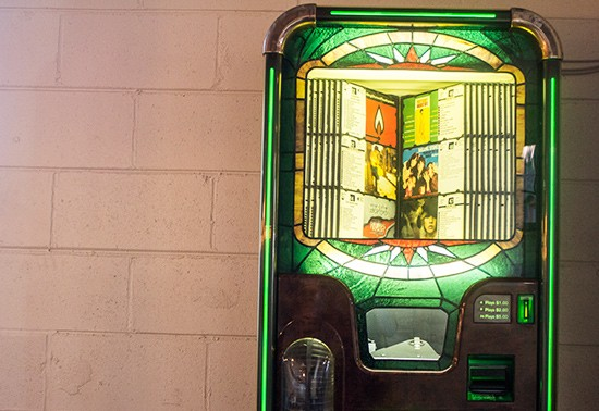 Jukebox available.