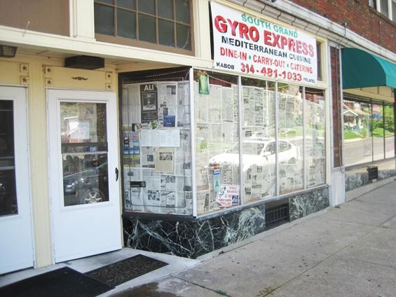 South Grand Gyro Express as it appeared in June - IAN FROEB
