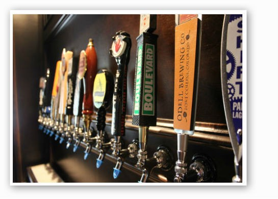 The taps at Heavy Riff. | Pat Kohm
