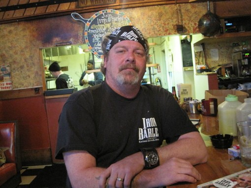 Tom Coghill, Iron Barley's proprietor and curmudgeon at large. - ROBIN WHEELER