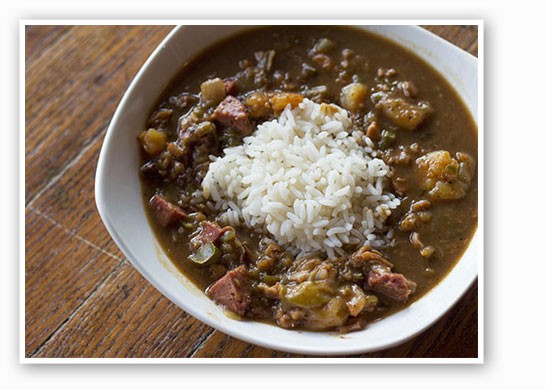 Sister Cities' signature gumbo. | Mabel Suen