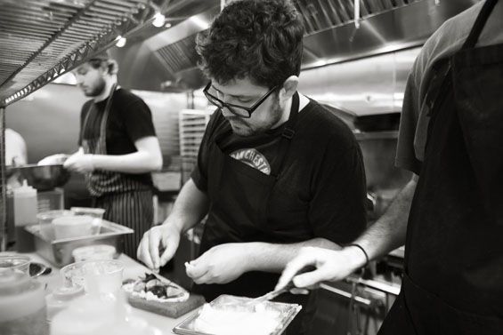 Urban Chestnut's chef Andy Fair | Jennifer Silverberg