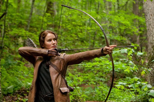 Katniss Everdeen, the Girl on Fire.