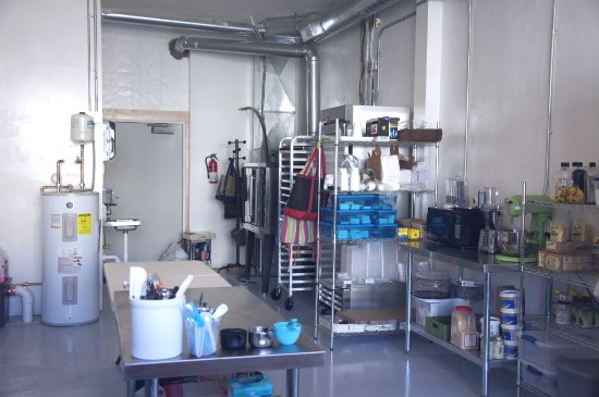 A peek at where the baking magic happens at the Organic Cave. - TARA MAHADEVAN