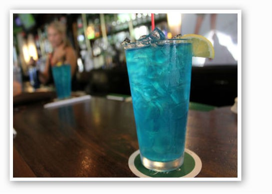 """The Blue Molly"" at Pat's. 