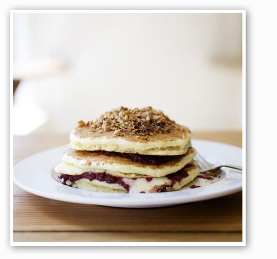 How amazing are these pancakes? | Jennifer Silverberg