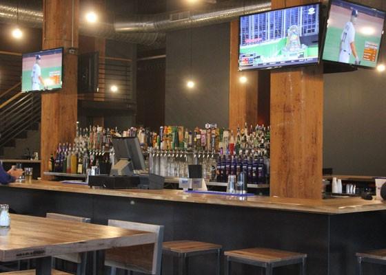 The bar at Wheelhouse.   Nancy Stiles