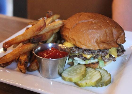 The Wheelhouse burger (one of several). | Nancy Stiles