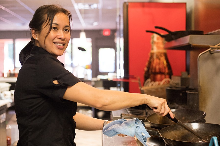 Chef/owner Somying Fox also owns Basil Spice on South Grand. - MABEL SUEN