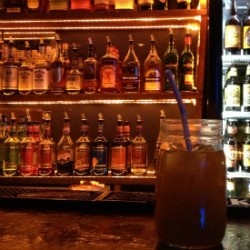 """The """"Breakfast drink"""" at the Heavy Anchor, made with orange juice, cider and maple syrup whiskey. - CAILLIN MURRAY"""