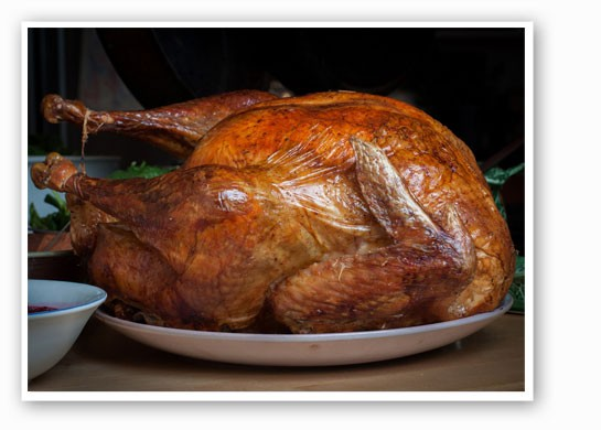 We're about to be in a turkey coma. | Tim Sackton