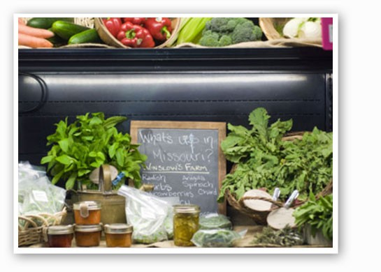 Winslow's will cook for you with produce from its Augusta farm.   Jennifer Silverberg