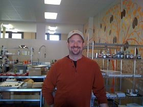 Brian Pelletier, owner of Kakao Chocolate on South Jefferson and in Maplewood - AIMEE LEVITT