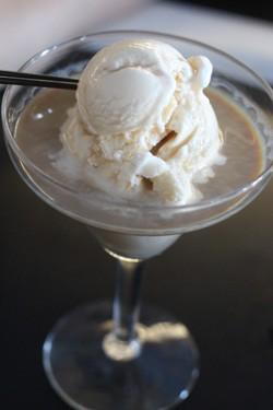 """Sweet Romance"" adult ice cream pairing - Bailey's Irish  Cream and Kahlua coffee liqueur with vanilla ice cream - MABEL SUEN"