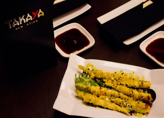A signature small plate on Takaya's menu -- mozzarella tempura. - MABEL SUEN