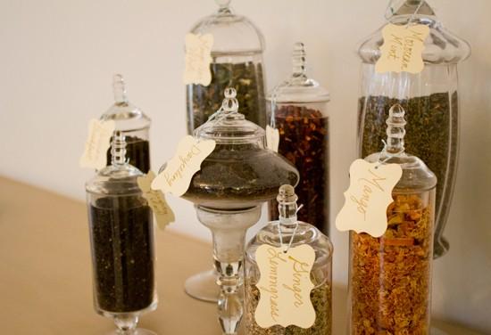 A selection of loose teas. - MABEL SUEN