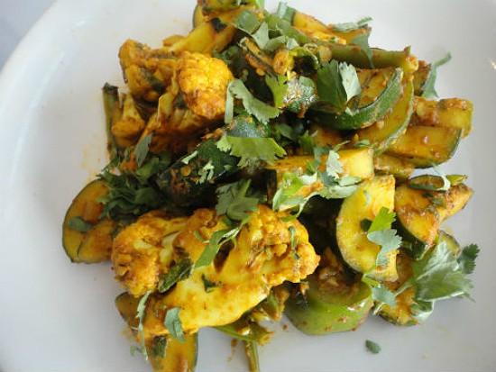 Fresh Mixed Vegetable Tarkari from Everest Cafe. - REASE KIRCHNER