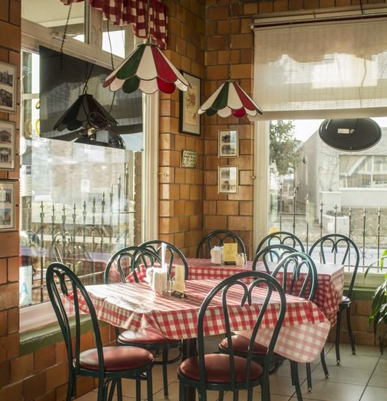 The dining room at Leonardo's Kitchen and Wine Bar. | Mabel Suen