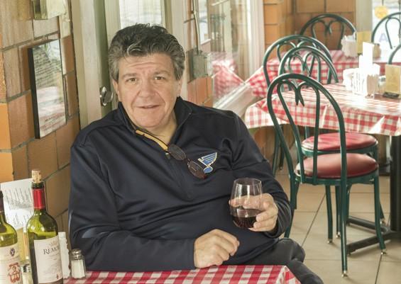 Owner Rich LoRusso at Leonardo's Kitchen and Wine Bar. | Mabel Suen