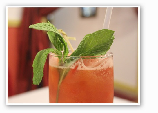 Handmade watermelon, cucumber and cantaloupe juice drink. | Nancy Stiles