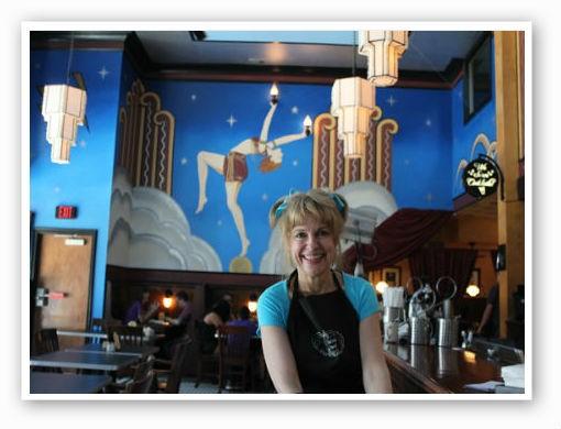 Joy Christensen, owner of the Fountain On Locust. | RFT photo