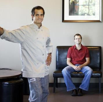 Jason (left) and Adam Tilford of Milagro Modern Mexican - JENNIFER SILVERBERG