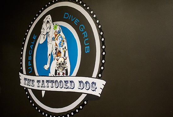 The Tattooed Dog logo.