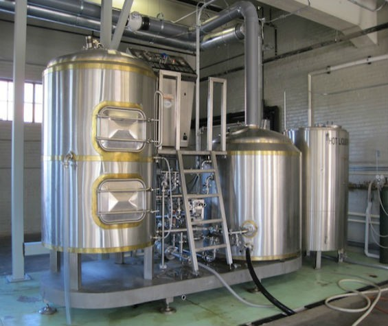 Brewing equipment at Perennial Artisan Ales - RFT PHOTO