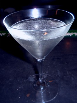 Asian Pear Martini from Pomme Cafe and Wine Bar. - EMILY WASSERMAN