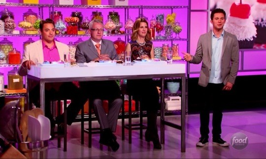 The judges on Cupcake Wars | Food Network
