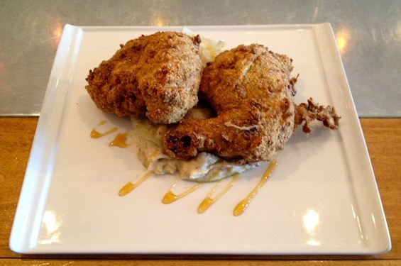 The fried chicken at Home Wine Kitchen | Ian Froeb