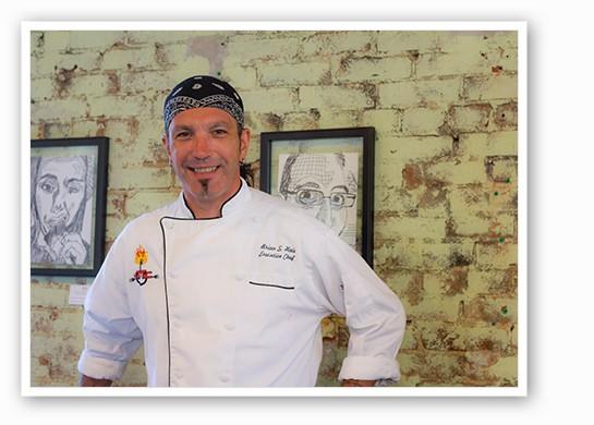 Chef Brian Hale. | Mabel Suen