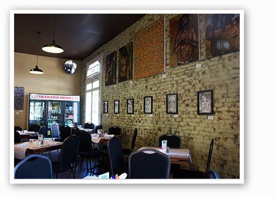 The dining room at Jax Cafe. | Mabel Suen