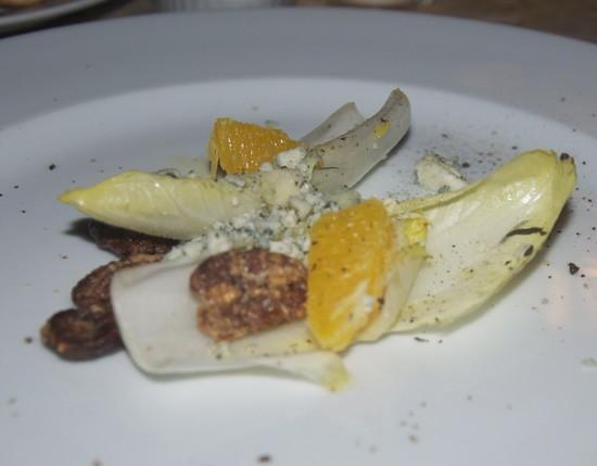 Belgian endive salad at I Fratellini. - TARA MAHADEVAN