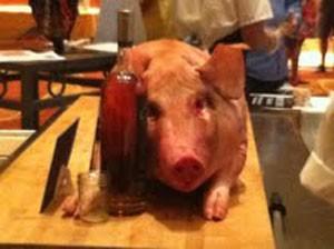Oink, oink.   Cheryl Baehr