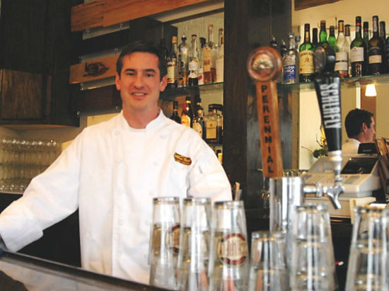 Jamey Tochtrop, owner and chef of Stellina in Lindenwood Park | Emily Wasserman