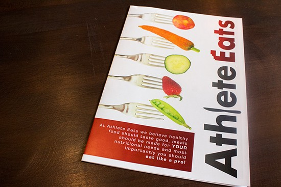 A brochure outlining meal plans.