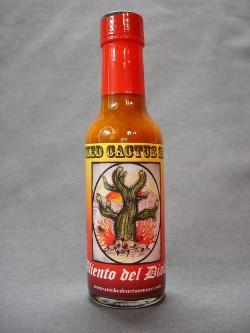 """Wicked Cactus Sauce's """"Aliento de Diablo."""""""