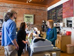 Inside Local Harvest Cafe in Tower Grove South