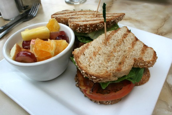 The BLT from Cyrano's - CHRISSY WILMES