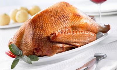 Roast goose. - THE GUARDIAN UK