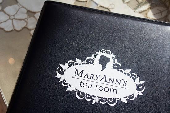 Mary Ann's logo.