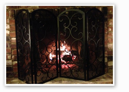 Don't have a fireplace at home? Don't worry. | Nancy Stiles