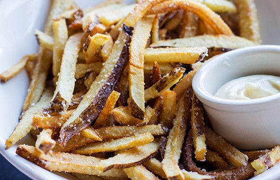 Truffle fries.