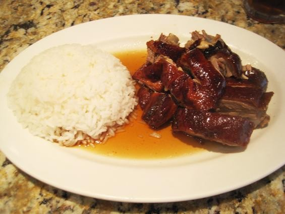 Roast duck with rice at Royal Chinese Barbecue - IAN FROEB