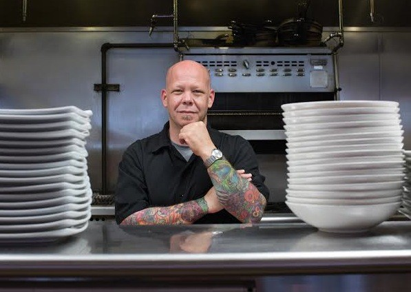 Chef D. Scott Phillips of Balaban's. | Courtesy of Carol Miller for Balaban's