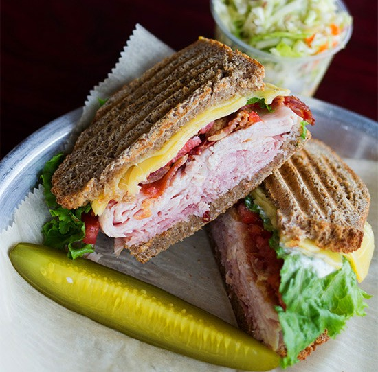 Grove East Provisions' turkey club. | Photos by Mabel Suen