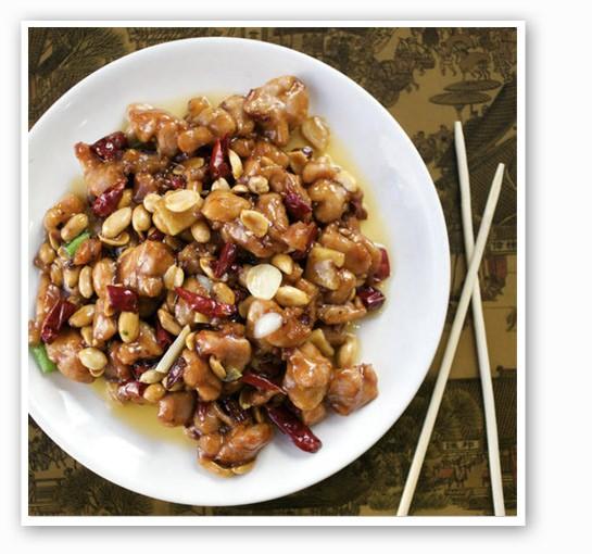 Kung pao chicken at Joy Luck Buffet | Jennifer Silverberg