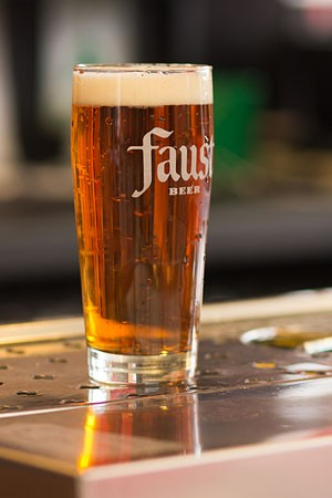 Faust's amber color comes from Boisselle's use of malt. | Tom Carlson